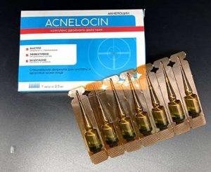 Acnelocin ampula