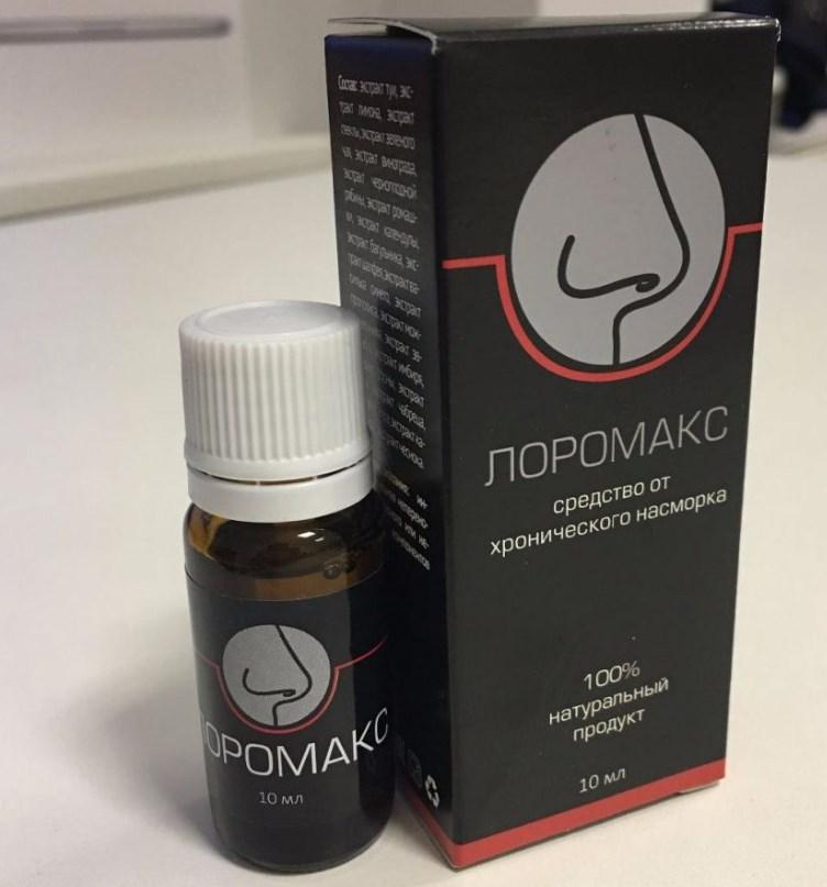 как лечить хронический насморк лоромакс