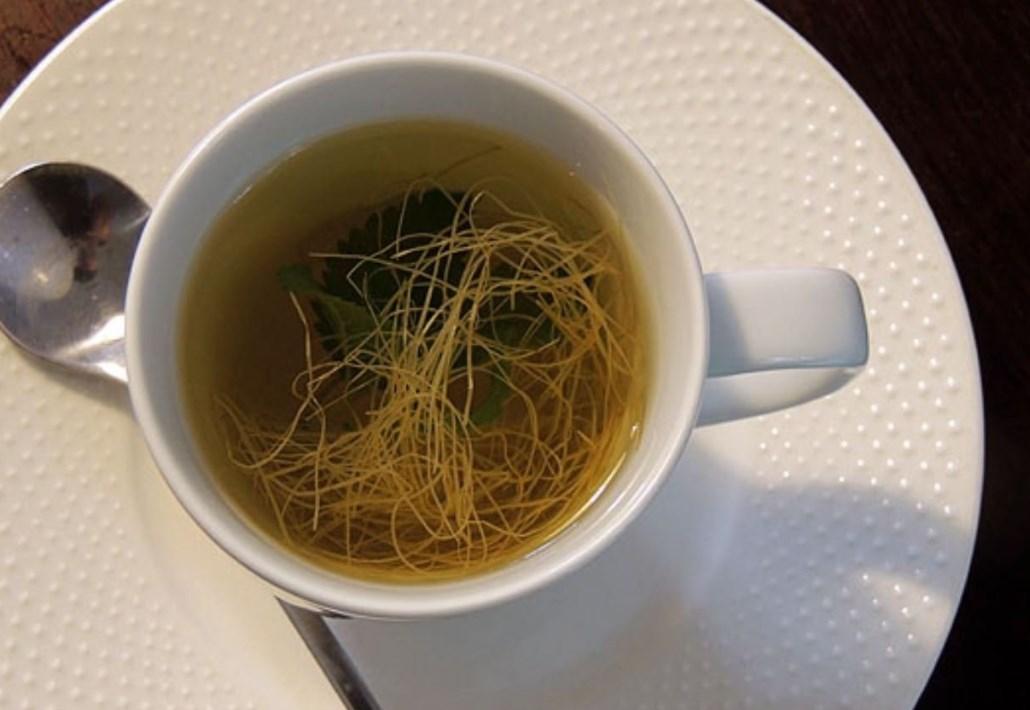 Чай из кукурузных рылец