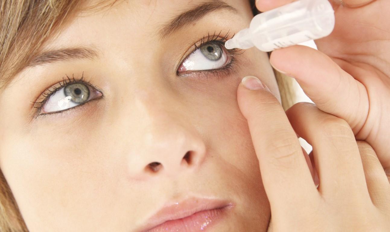 Закапать глаза от аллергии