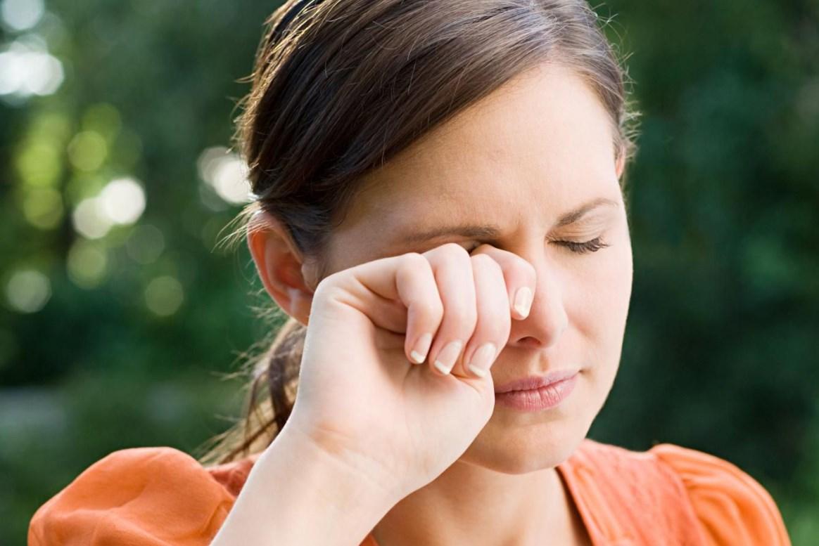 Весенняя аллергия на глаза