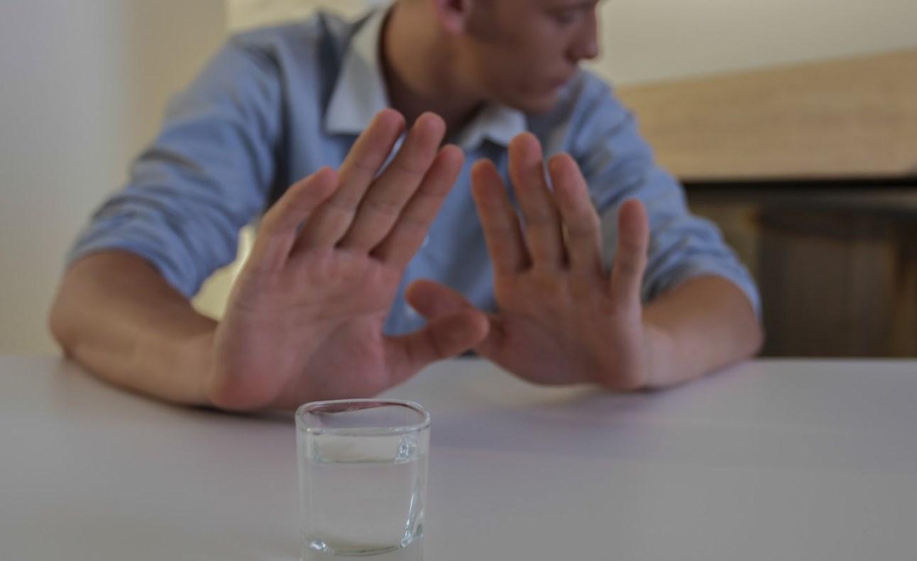 Отказаться от спиртного