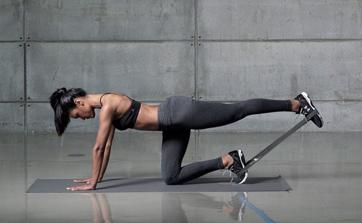 Упражнения с фитнес резинками
