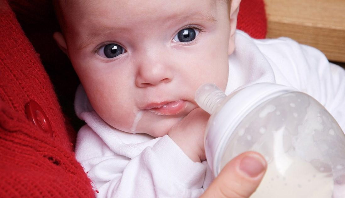 Икота у младенца после кормления