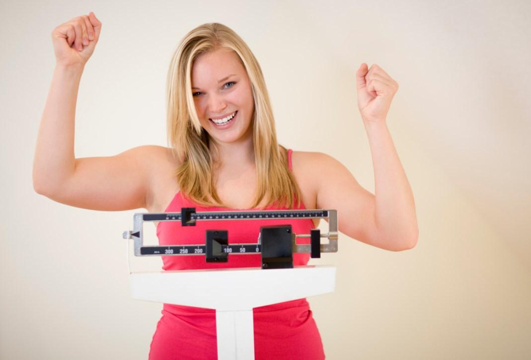 Весы показывают малый вес