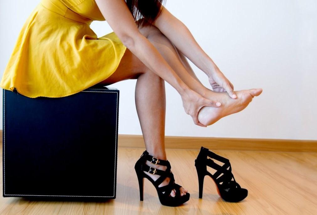 Болят стопы от высокого каблука