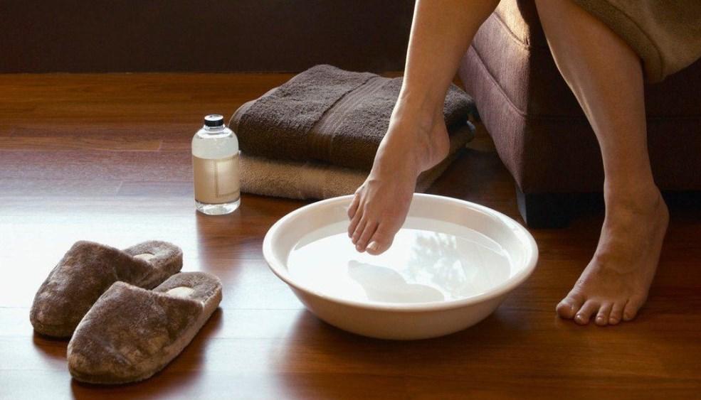 Грибок стопы ванночки