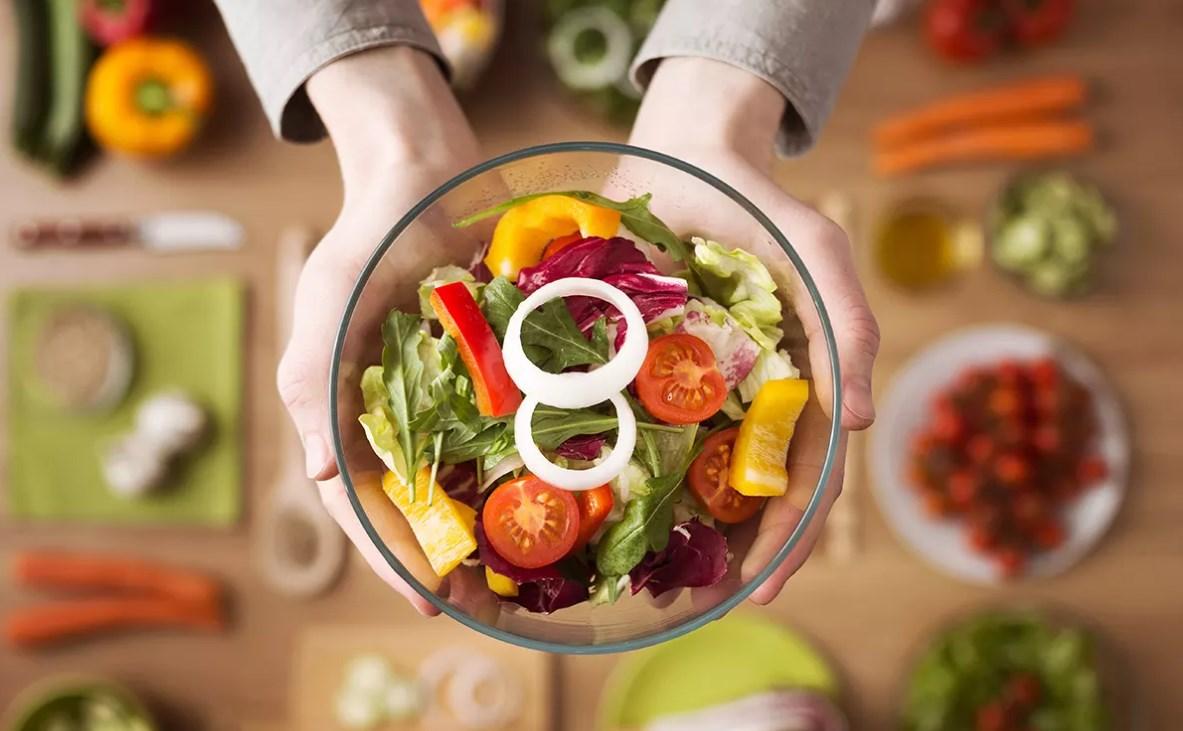 Овощи салат