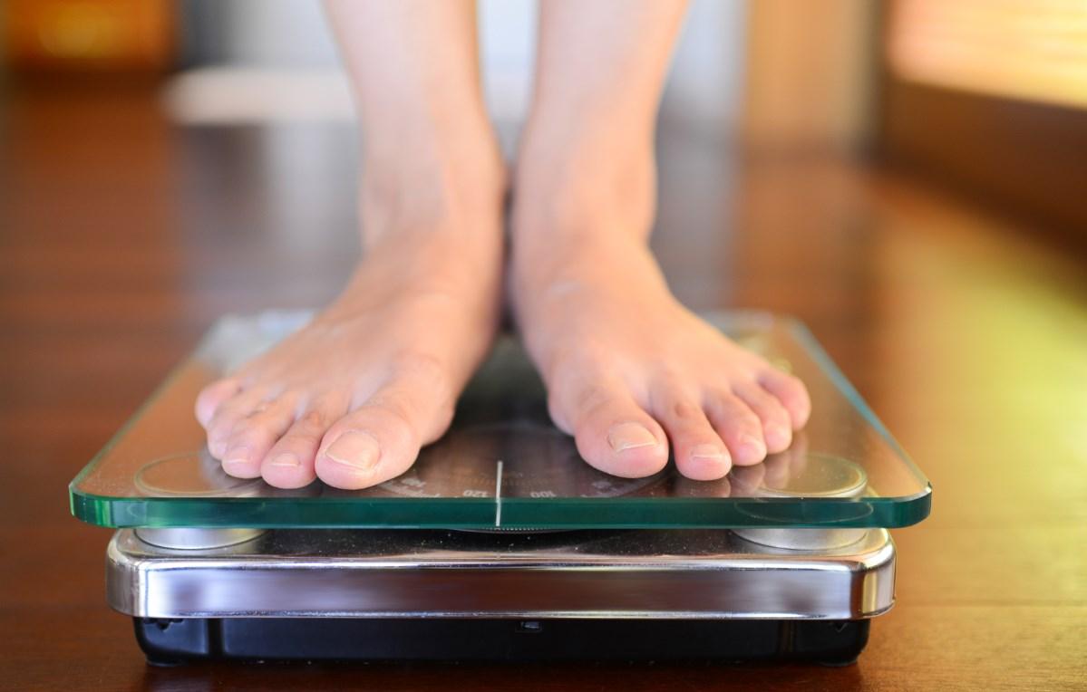 Взвеситься на весах