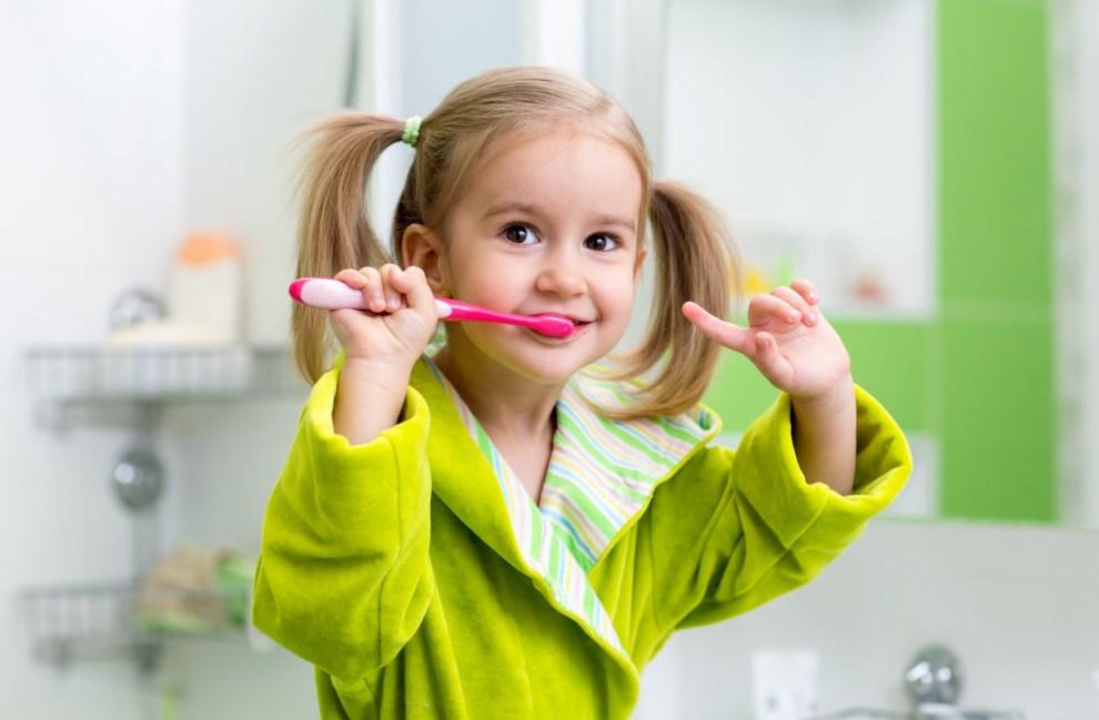 Гигиена полости рта ребенок