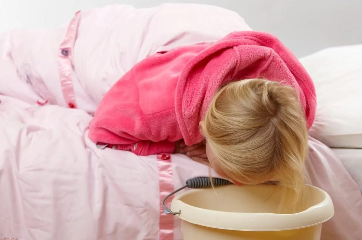Ацетонемическая рвота у ребенка