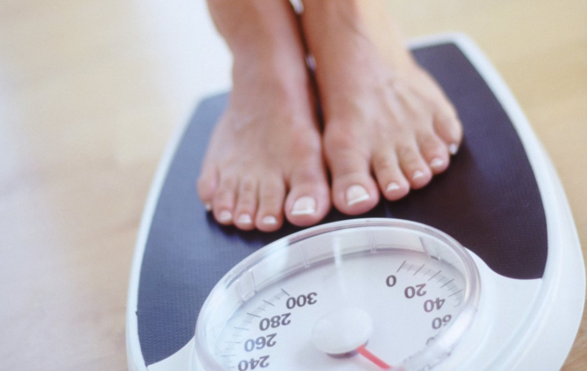 Взвешивание похудение