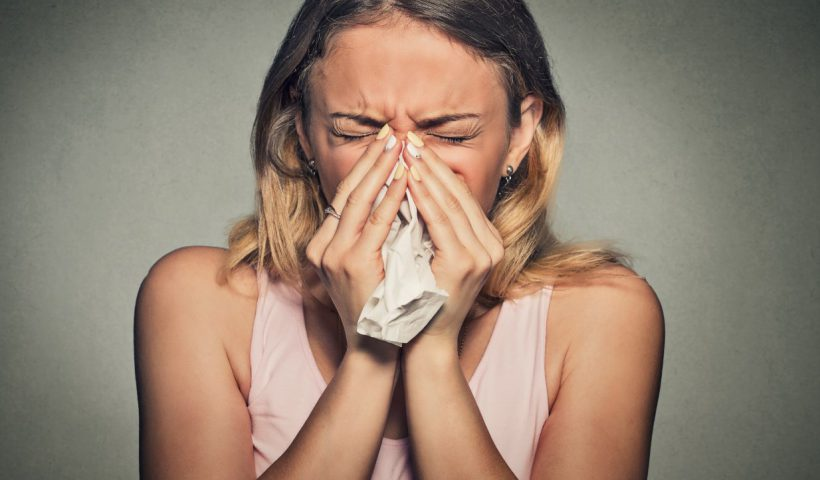 Зуд в носу и чихание