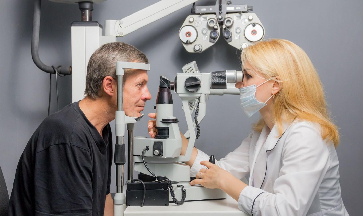 Бельмо на глазу диагностика