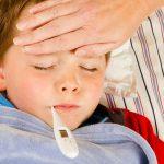 Рвота у ребенка при высокой температуре