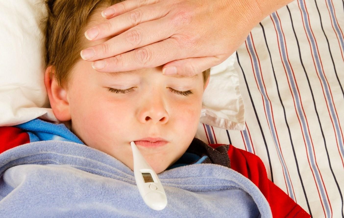 Ребенок высокая температура