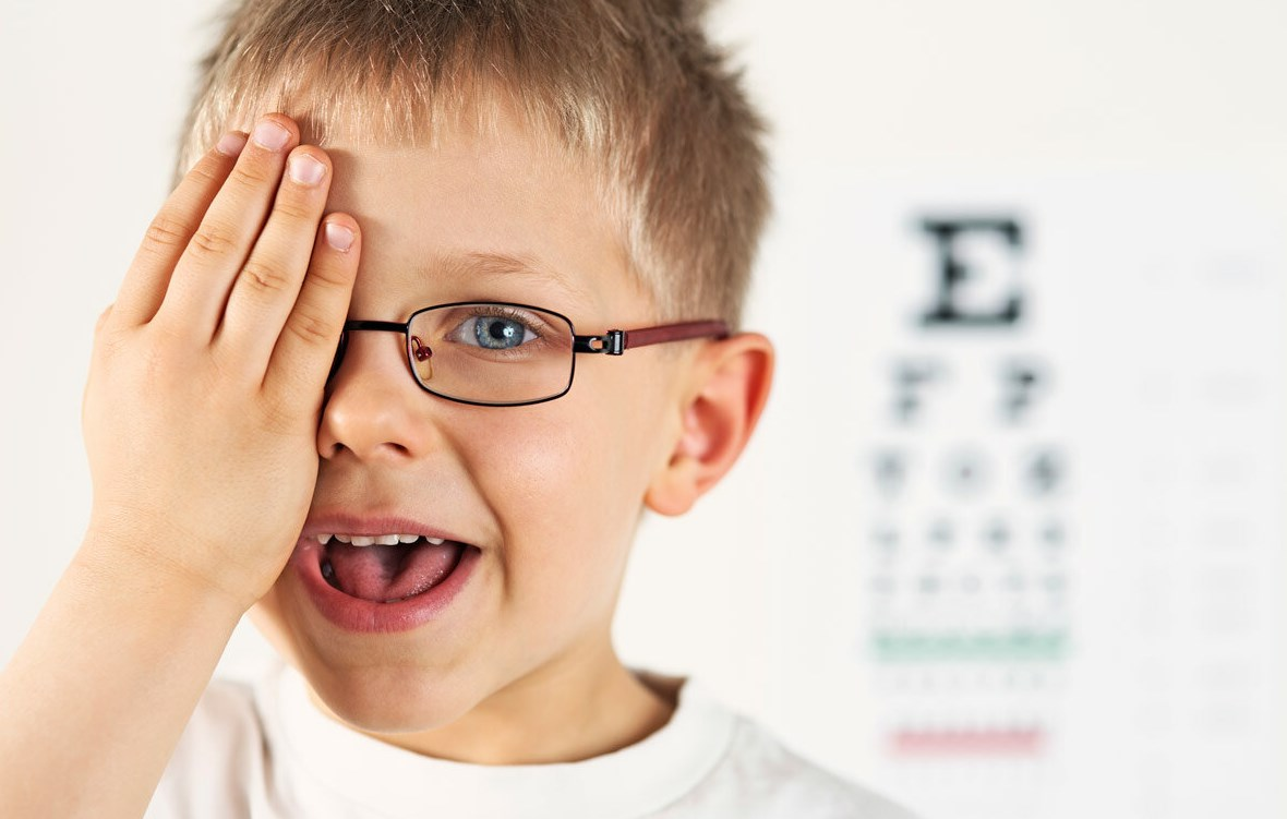 Проверка зрения ребенок