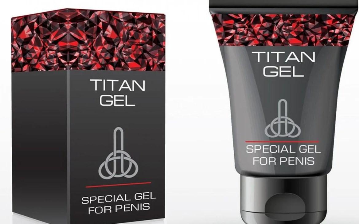 Титан Гель упаковка