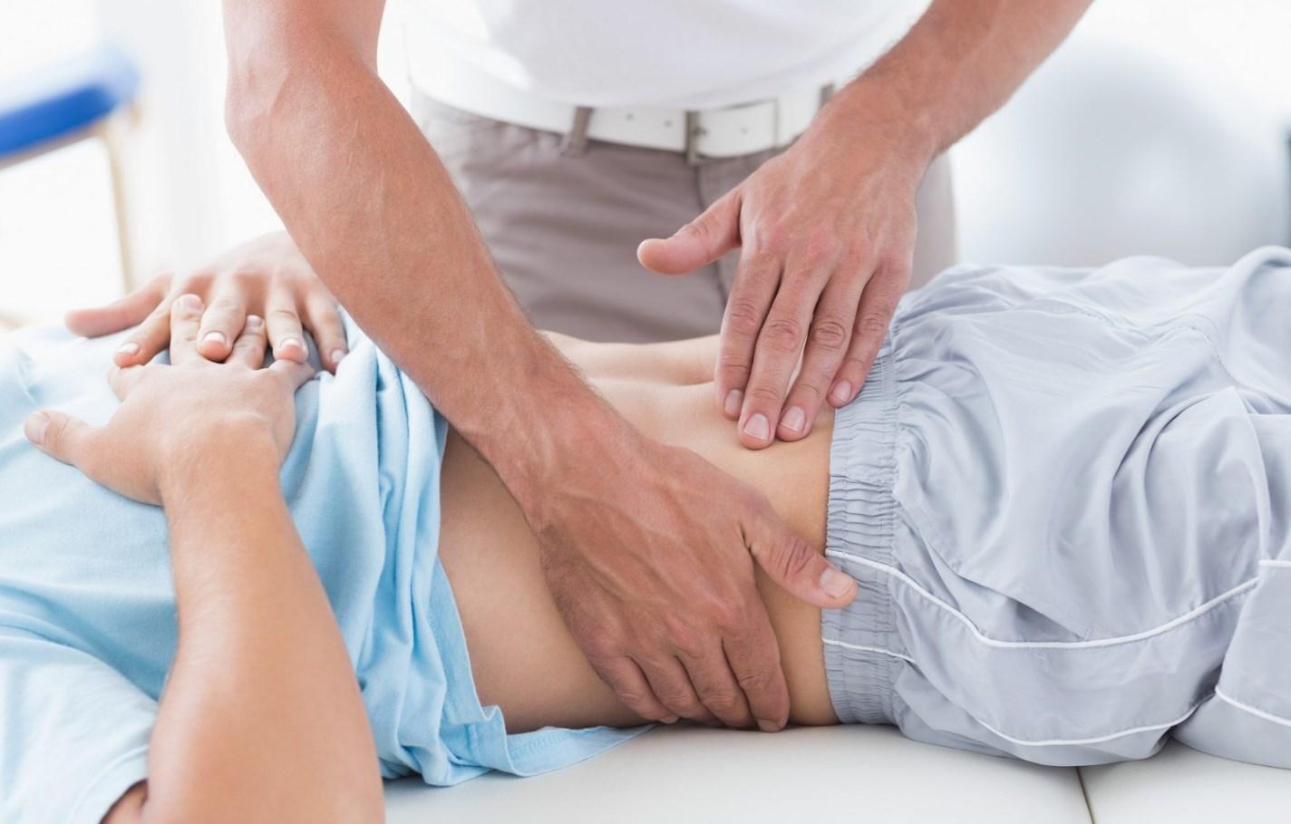 Диагностика опущение желудка