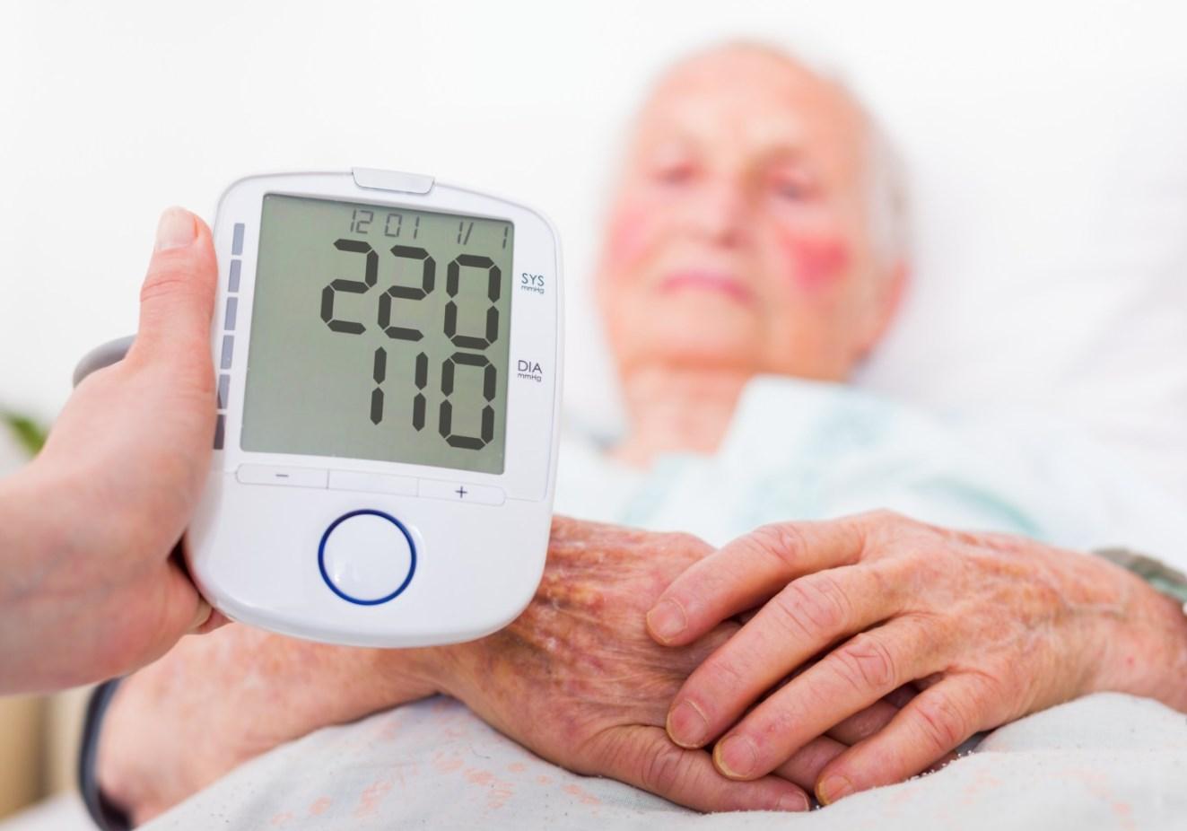 Определить высокое артериальное давление