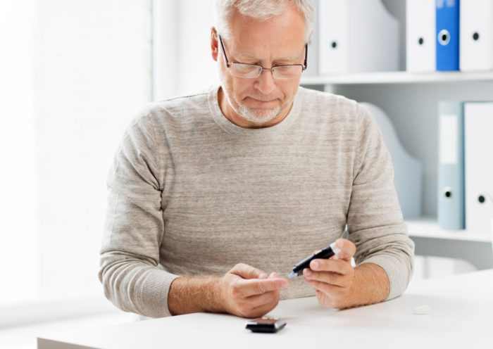 Сахарный диабет у мужчин старше 40