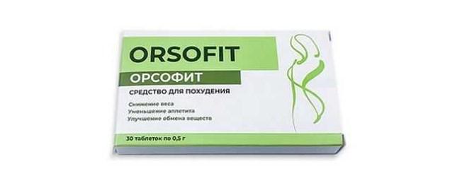 Орсофит похудение
